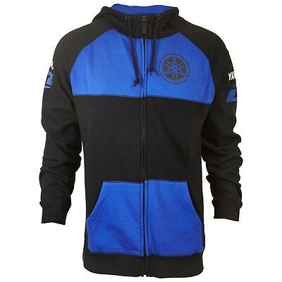 YAMAHA MEDIUM ZiP UP HOODED SWEATSHIRT BY ONE INDUSTRIES CRP-14FRD-BL-MD