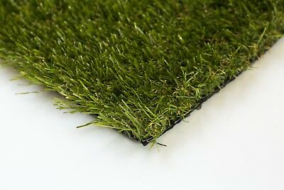 40mm Emerald Artificial Grass Astro Lawn Fake Turf Garden - Premium Quality