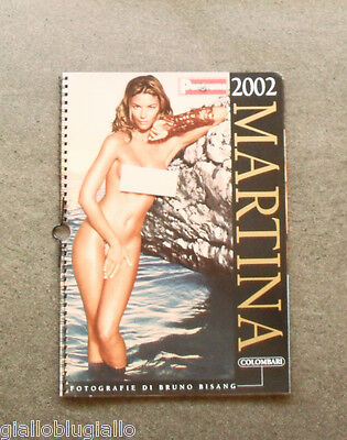 Calendario/Calendar - Panorama - MARTINA COLOMBARI - CALENDARIO 2002