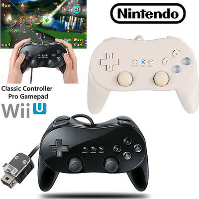 Controller Remote for Retro Wired Classic Controller For Wii/Wii U