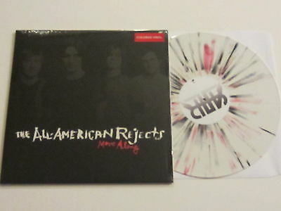 ALL AMERICAN REJECTS Move Along LP WHITE w/RED and BLACK SPLATTER VINYL UNPLAYED