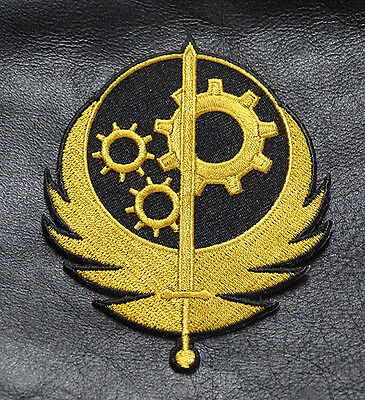 Brotherhood of Steel  Fallout Morale Military 3.5 inch IRON ON  Patch