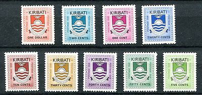 Kiribati 1981 Postage Due Set Of 9 Stamps  Mint Never Hinged Complete!