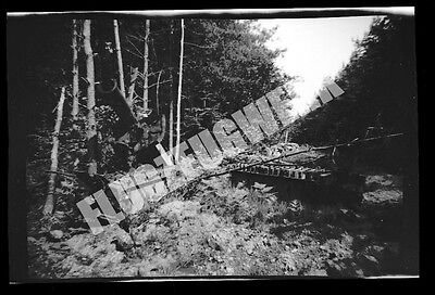 WW2 US Captured German V-1 Rocket Rail at HANDORF - 100% ORIGINAL NEGATIVE #8