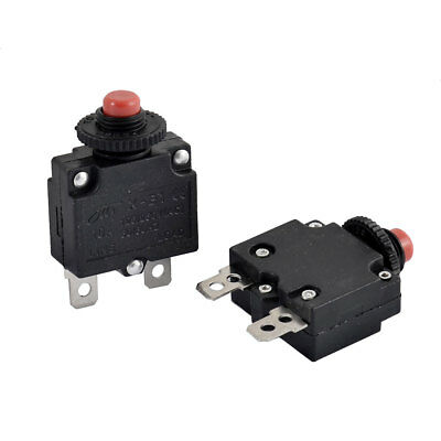 Air Compressor 10A Circuit Breaker Current Overload Protector Switch 2pcs