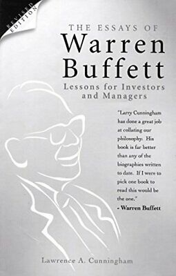 The Essays of Warren Buffett: Lessons for Invest..., Cunningham, L. A. Paperback