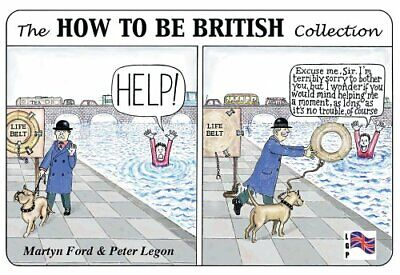 The How to be British Collection by Peter Legon Spiral bound Book The Cheap Fast