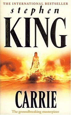 Carrie, King, Stephen Book The Cheap Fast Free Post
