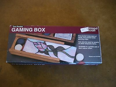 Inland Craft 2 Pocket Card or Jewelry Box Stained Glass Kit