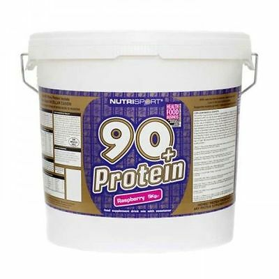Nutrisport 90+ Whey Protein | All Flavours & All Sizes | Whey Anabolic Powder