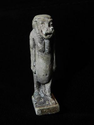 Zurqieh -Q5- Ancient Egypt. Large Faience Amulet Of Tawaret. 600 B.c