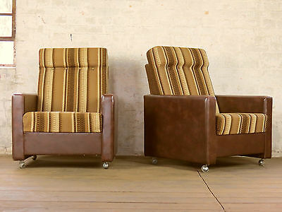 Rockabilly Magnificent Retro Cocktail Arm Chair Armchair Sessel Vintage 70s 60s