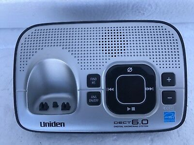 Uniden D1680-4 DECT6.0 Cordless Phone Answering Machine Base (Only