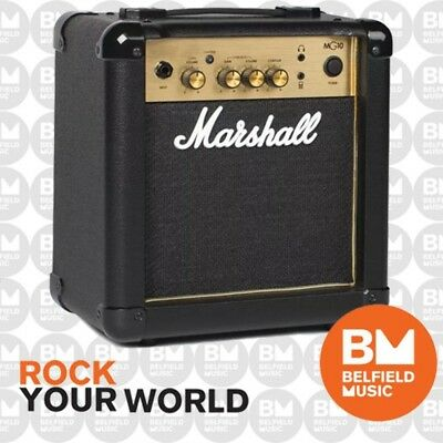 Marshall MG10G Guitar Amplifier Combo Amp 10W MG-10 GOLD SERIES -Replaced MG10CF