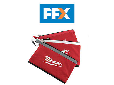 Milwaukee 48228193 Zipper Pouches 3pk