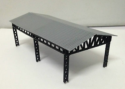 Outland Models Train Railroad Large Open Shed for Station / Factory N Scale