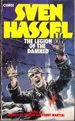 The Legion of the Damned, Hassel, Sven Paperback Book The Cheap Fast Free Post