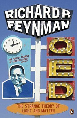 QED - The Strange Theory of Light and Matter ... by Feynman, Richard P Paperback
