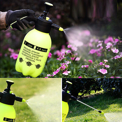 2L1.5L Pressure Water Sprayer Portable Spray Bottle Weed Killer Pump Jet Sprayer