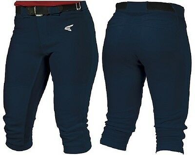 1 Pair Easton Mako Adult Navy X-Large Womens Softball Pants New In Wrapper!