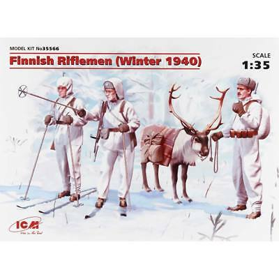 NEW ICM 1/35 Finnish Riflemen ICM35566