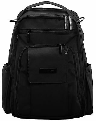 Ju Ju Be Onyx Be Right Back Backpack Baby Diaper Bag Black Out NEW 2016