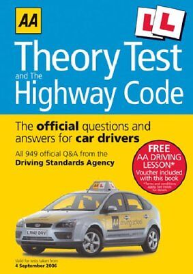AA Theory Test and the Highway Code (AA Driving Test Series) Paperback Book The