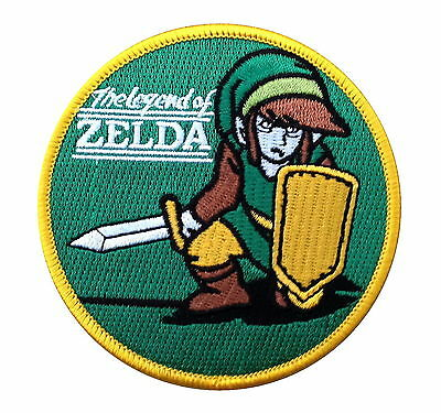 The Legend Of Zelda  Embroidered 3.5 Inch Iron On Patch