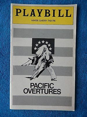 Pacific Overtures - Winter Garden Theater Playbill - March 1976 - Mako - Sato