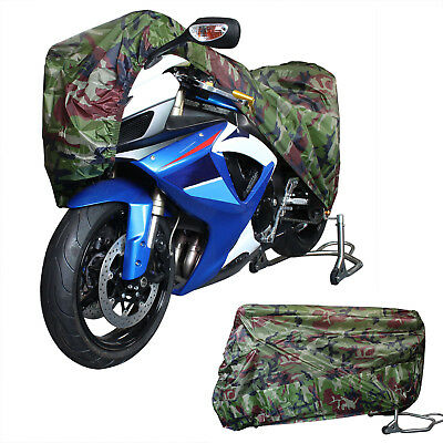 Waterproof Bike Outdoor UV Protective Scooter Rain Dust Cover For Motorcycle XXL