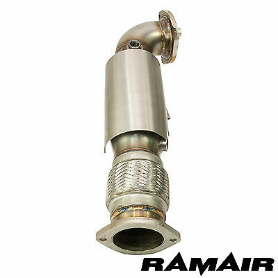 "Ramair Sports Cat Downpipe for 2.5"" system Fiesta ST 180 turbo exhaust high flow"