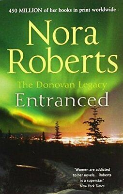 Entranced by Roberts, Nora Book The Cheap Fast Free Post