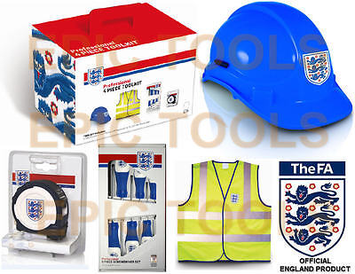 OFFICIEL FA Angleterre Football Toolkit,Ruban De Mesure,Tournevis,Solide Chapeau