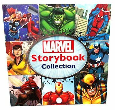 Marvel Storybook Collection - Thor, Spiderman, Captain America, The Hulk Book