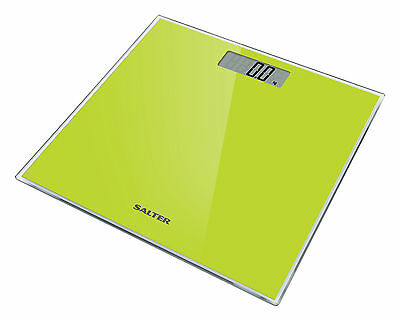 Salter Digital Bathroom Scale Toughened Glass Electronic Weight Scale 9037 GN3R