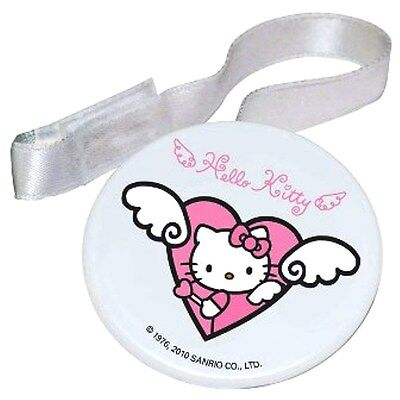Hello Kitty Pink Girls Newborn Baby Soother holder Teehter Dummies BPA Free
