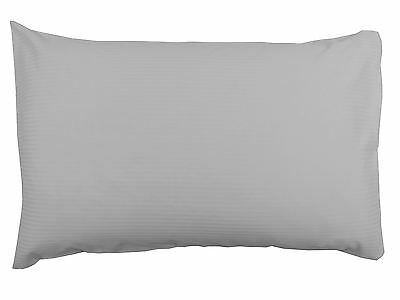 Subtle Sheen Stripe 300 Thread Count Grey Housewife Pillowcase Pair
