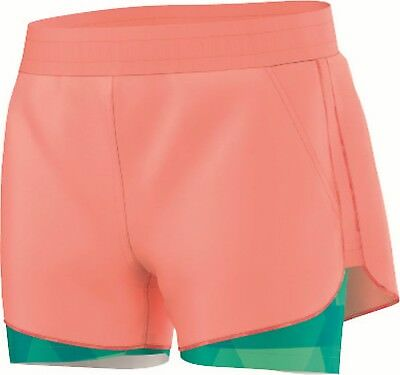 adidas Kinder Tennis Training Short Club Trend Short orange grün