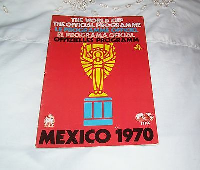 MEXICO 70 Official Programme FREE POST UK