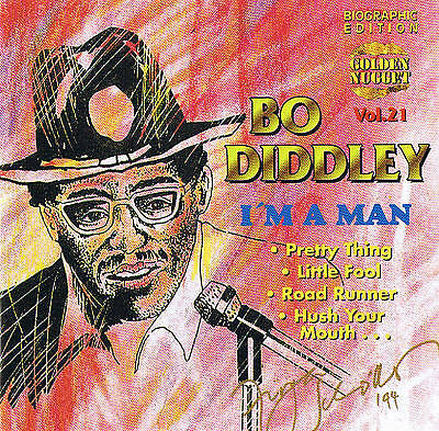 "Bo Diddley "" I "" M.A Man "" Top Blues! CD New & orig. Box Cosmus DSB 12 TRACKS"