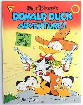 ESL1077. Disney's Donald Duck Adventures 5 Sheriff of Bullet Valley Gladstone;
