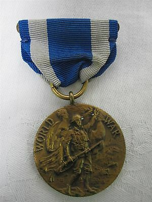 World War I Service Medal Presented By The State Of New York