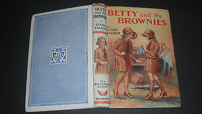BETTY & THE BROWNIES by ETHEL TALBOT 1934 1st ILLUSTRATED F M LEICESTER