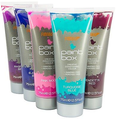 Fudge Paintbox Semi Permanent Clearance Sale Hair Dye Lots Of Colours Available