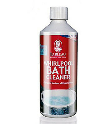 Tableau Whirlpool Spa Bath Cleaner 500ml Cleans Freshens Whirlpool Systems