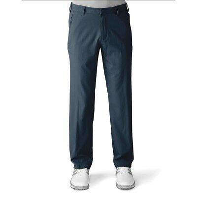 Adidas Golf 2016 Puremotion Stretch 3-Stripes Trousers (Mineral Blue/Stone)