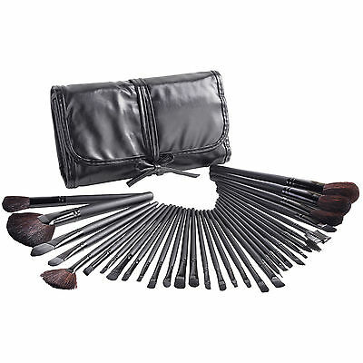 Beautify 32 Piece Cosmetic Make up Makeup Contour Foundation Brushes Brush Set