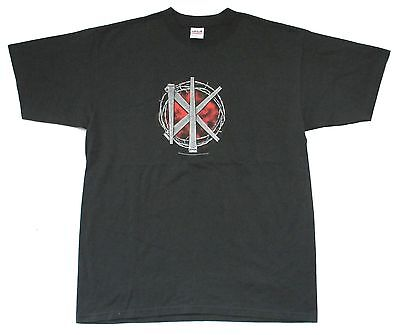 Dead Kennedys Barbed Wire Dk Logo Black T-Shirt Adult New Official Licensed