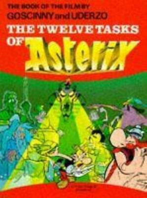 The Twelve Tasks of Asterix - The book of the film by Ren� Goscinny Hardback The