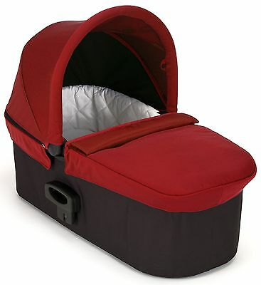 Baby Jogger Deluxe Pram Bassinet - Red - New! Free Shipping!